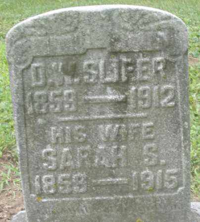 SLIFER, D.W. - Preble County, Ohio | D.W. SLIFER - Ohio Gravestone Photos