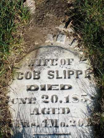 SLIPPE, SARAH - Preble County, Ohio | SARAH SLIPPE - Ohio Gravestone Photos