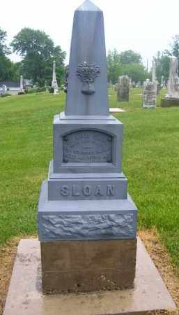 SLOAN, WILLIAM - Preble County, Ohio | WILLIAM SLOAN - Ohio Gravestone Photos