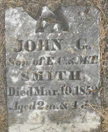 SMITH, JOHN G. - Preble County, Ohio | JOHN G. SMITH - Ohio Gravestone Photos