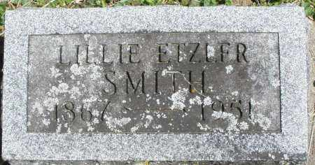 ETZLER SMITH, LILLIE - Preble County, Ohio | LILLIE ETZLER SMITH - Ohio Gravestone Photos