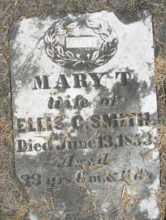 SMITH, MARY T. - Preble County, Ohio | MARY T. SMITH - Ohio Gravestone Photos