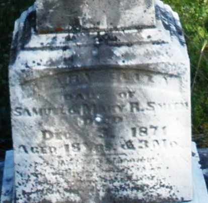 SMITH, MARY ELIZABETH - Preble County, Ohio | MARY ELIZABETH SMITH - Ohio Gravestone Photos