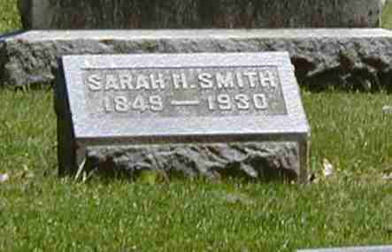 SMITH, SARAH H. - Preble County, Ohio | SARAH H. SMITH - Ohio Gravestone Photos