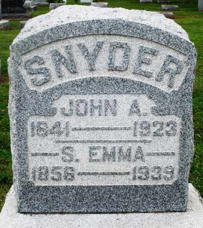 SNYDER, JOHN A. - Preble County, Ohio | JOHN A. SNYDER - Ohio Gravestone Photos