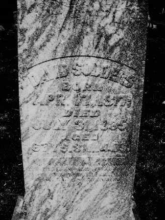 SODDERS, DAVID - Preble County, Ohio | DAVID SODDERS - Ohio Gravestone Photos