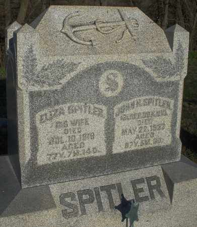 SPITLER, JOHN - Preble County, Ohio | JOHN SPITLER - Ohio Gravestone Photos