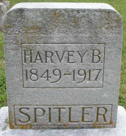SPITLER, HARVEY B. - Preble County, Ohio | HARVEY B. SPITLER - Ohio Gravestone Photos