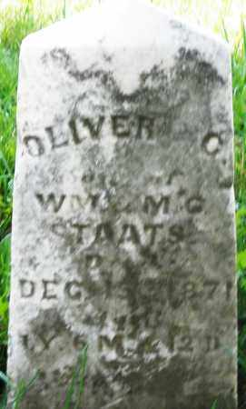 STAATS, OLIVER C. - Preble County, Ohio | OLIVER C. STAATS - Ohio Gravestone Photos
