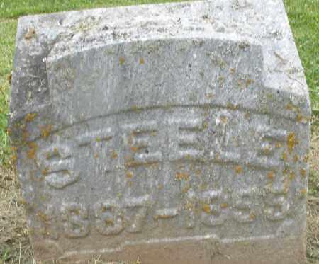 STEELE, JESSE - Preble County, Ohio | JESSE STEELE - Ohio Gravestone Photos