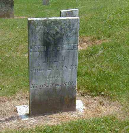 STEPHENS, JOHN - Preble County, Ohio | JOHN STEPHENS - Ohio Gravestone Photos