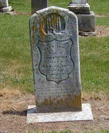 STEPHENS, MARY JANE - Preble County, Ohio | MARY JANE STEPHENS - Ohio Gravestone Photos
