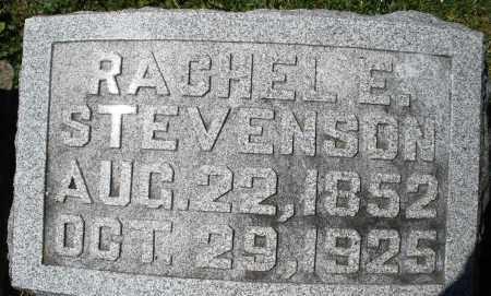 STEVENSON, RACHEL E. - Preble County, Ohio | RACHEL E. STEVENSON - Ohio Gravestone Photos