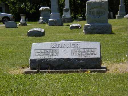 STIPHER, NANNIE O. - Preble County, Ohio | NANNIE O. STIPHER - Ohio Gravestone Photos