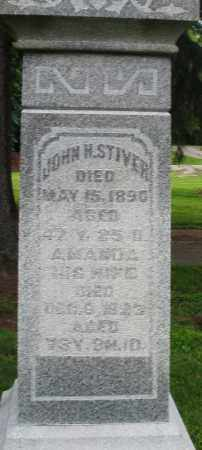 STIVER, JOHN H. - Preble County, Ohio | JOHN H. STIVER - Ohio Gravestone Photos
