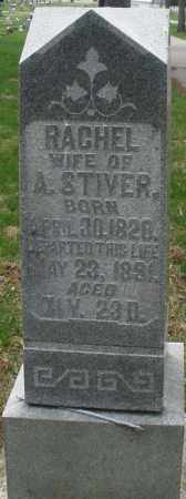 STIVER, RACHEL - Preble County, Ohio | RACHEL STIVER - Ohio Gravestone Photos