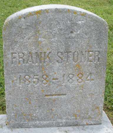 STONER, FRANK - Preble County, Ohio | FRANK STONER - Ohio Gravestone Photos