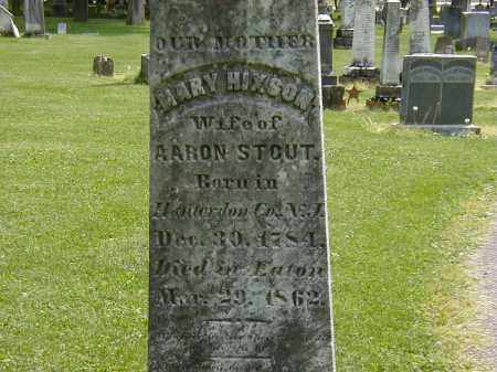 STOUT, MARY HIXSON - Preble County, Ohio | MARY HIXSON STOUT - Ohio Gravestone Photos