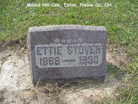 STOVER, ETTIE - Preble County, Ohio | ETTIE STOVER - Ohio Gravestone Photos