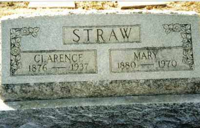 STRAW, MARY - Preble County, Ohio | MARY STRAW - Ohio Gravestone Photos