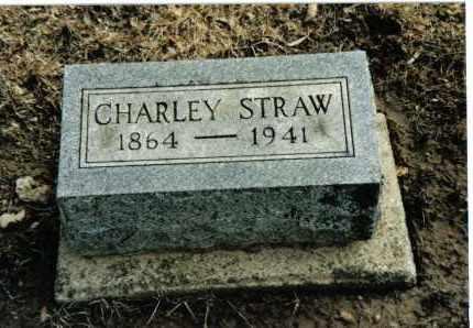 STRAW, CHARLEY - Preble County, Ohio | CHARLEY STRAW - Ohio Gravestone Photos