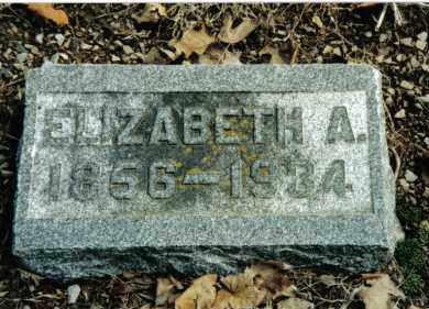 STRAW, ELIZABETH A. - Preble County, Ohio | ELIZABETH A. STRAW - Ohio Gravestone Photos