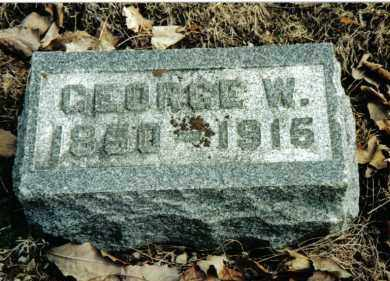 STRAW, GEORGE W. - Preble County, Ohio | GEORGE W. STRAW - Ohio Gravestone Photos