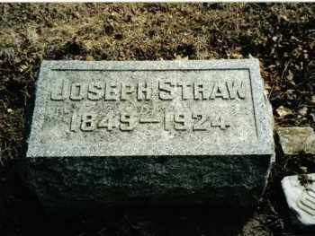 STRAW, JOSEPH - Preble County, Ohio | JOSEPH STRAW - Ohio Gravestone Photos
