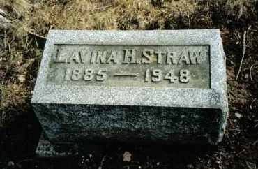 STRAW, LAVINA H. - Preble County, Ohio | LAVINA H. STRAW - Ohio Gravestone Photos