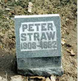 STRAW, PETER - Preble County, Ohio | PETER STRAW - Ohio Gravestone Photos