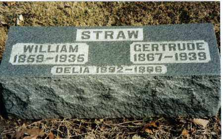 STRAW, GERTRUDE - Preble County, Ohio | GERTRUDE STRAW - Ohio Gravestone Photos