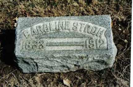 STROH, CAROLINE - Preble County, Ohio | CAROLINE STROH - Ohio Gravestone Photos