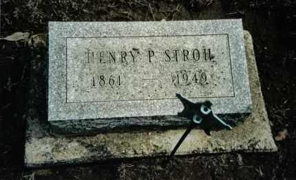 STROH, HENRY P. - Preble County, Ohio | HENRY P. STROH - Ohio Gravestone Photos