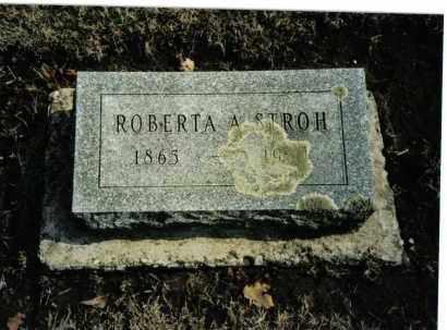 STROH, ROBERTA A - Preble County, Ohio | ROBERTA A STROH - Ohio Gravestone Photos
