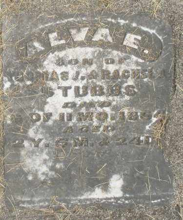 STUBBS, ALVA E. - Preble County, Ohio | ALVA E. STUBBS - Ohio Gravestone Photos