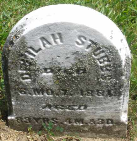 STUBBS, DELILAH - Preble County, Ohio | DELILAH STUBBS - Ohio Gravestone Photos