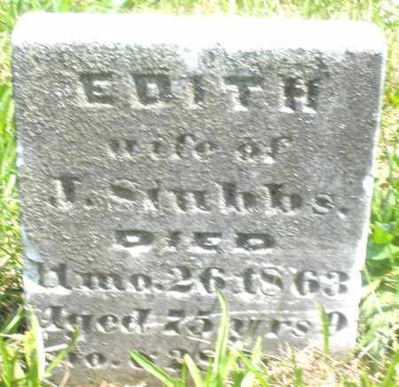 STUBBS, EDITH - Preble County, Ohio | EDITH STUBBS - Ohio Gravestone Photos