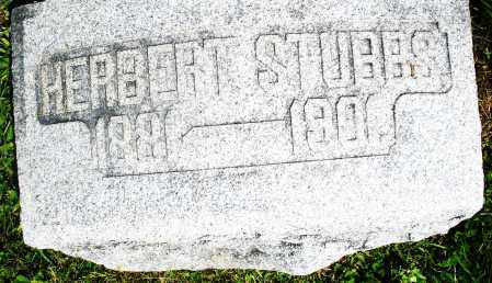 STUBBS, HERBERT - Preble County, Ohio | HERBERT STUBBS - Ohio Gravestone Photos