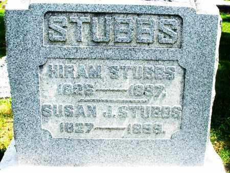 STUBBS, SUSAN J. - Preble County, Ohio | SUSAN J. STUBBS - Ohio Gravestone Photos