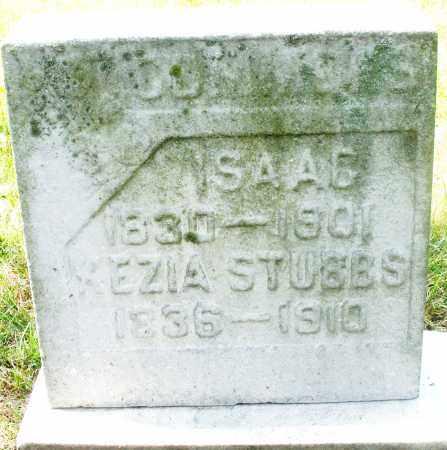 STUBBS, ISAAC - Preble County, Ohio | ISAAC STUBBS - Ohio Gravestone Photos
