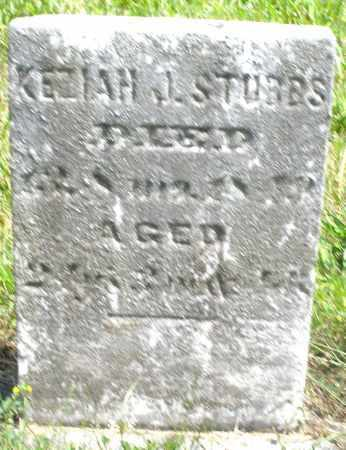 STUBBS, KEZIAH J. - Preble County, Ohio | KEZIAH J. STUBBS - Ohio Gravestone Photos