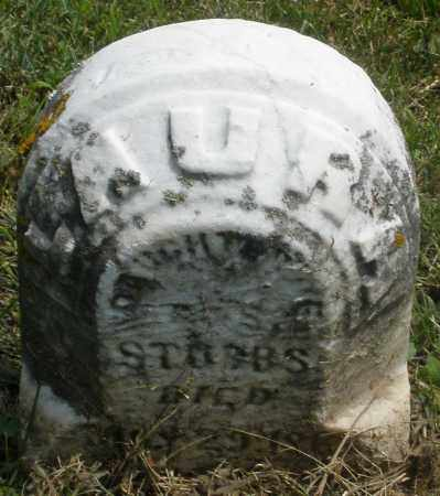 STUBBS, LAURA - Preble County, Ohio | LAURA STUBBS - Ohio Gravestone Photos