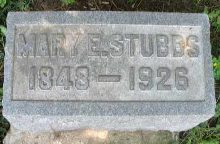STUBBS, MARY E. - Preble County, Ohio | MARY E. STUBBS - Ohio Gravestone Photos