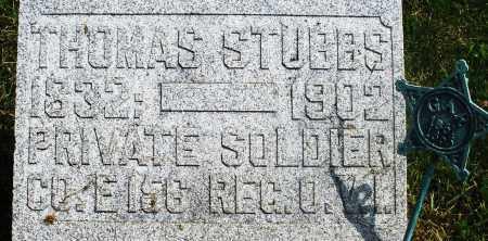 STUBBS, THOMAS - Preble County, Ohio | THOMAS STUBBS - Ohio Gravestone Photos