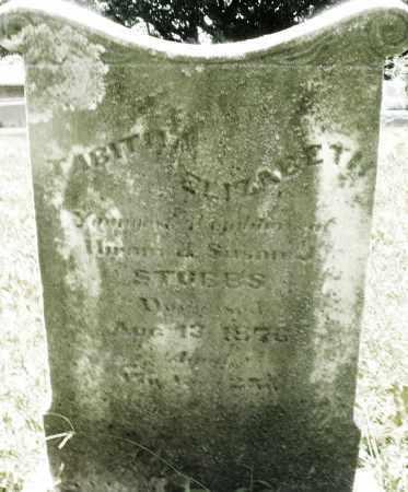 STUBBS, TABITHA ELIZABETH - Preble County, Ohio | TABITHA ELIZABETH STUBBS - Ohio Gravestone Photos
