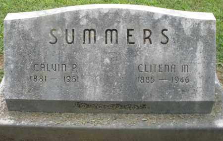 SUMMERS, CLITENA M. - Preble County, Ohio | CLITENA M. SUMMERS - Ohio Gravestone Photos