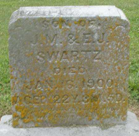 SWARTZ, SON - Preble County, Ohio | SON SWARTZ - Ohio Gravestone Photos