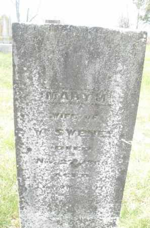 SWENEY, MARY - Preble County, Ohio | MARY SWENEY - Ohio Gravestone Photos