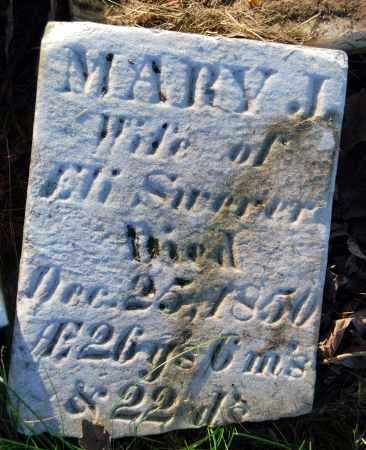 SWERER, MARY J. - Preble County, Ohio | MARY J. SWERER - Ohio Gravestone Photos