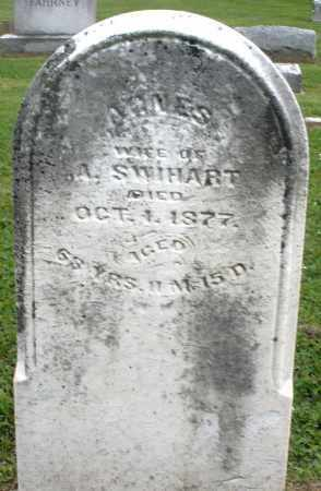 SWIHART, AGNES - Preble County, Ohio | AGNES SWIHART - Ohio Gravestone Photos